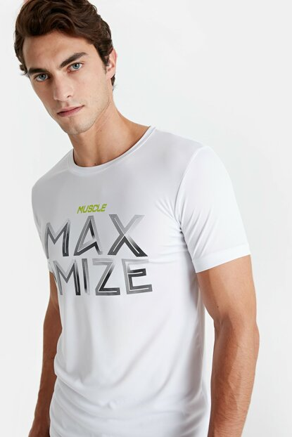 Men's Optical White T-Shirt 9W5185Z8