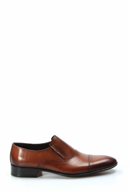 Genuine Leather Taba Men's Classic Shoes 1850420
