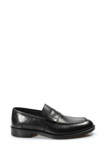 Genuine Leather Black Men Classic Shoes 1849787