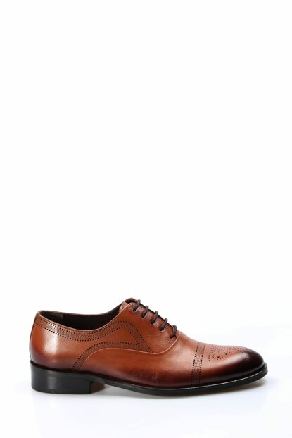 Genuine Leather Taba Men's Classic Shoes 2036680