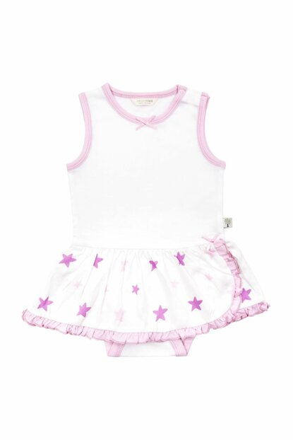 Baby Body with Pink Star Skirt 3-6 Months 10216002T