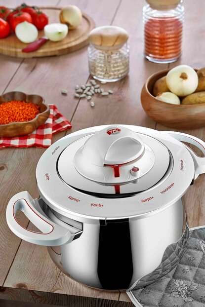 Legendary Pressure Cooker 5 Lt White TAC-1217