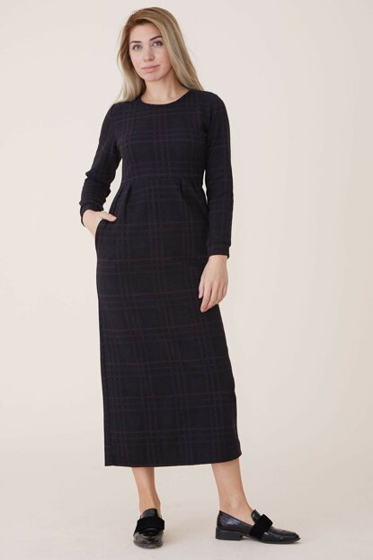 Women's Plum Dress Nassah-UU-9W1012