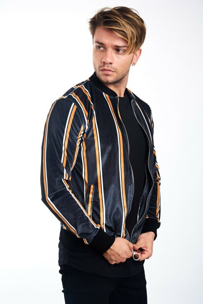Men's Ribbed Digital Coat - MNT541