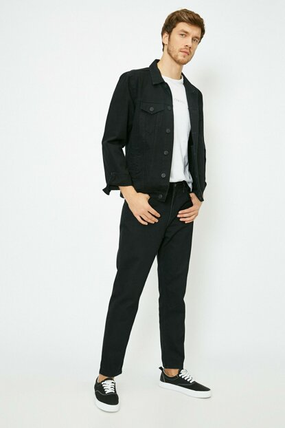 Men's Black Trousers 0KAM41692BW