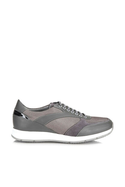 Genuine Leather Gray Men Sneaker 02AYH130680A230