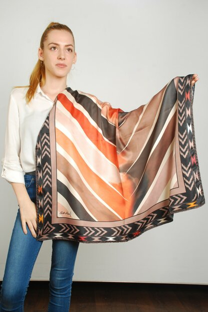Women Multi Color Sport Polyester Scarf 9351164