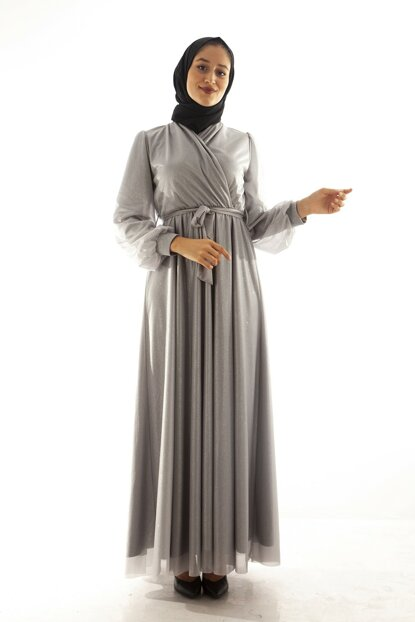 Women's Gray Dress 1024212