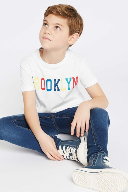 Boys' Pure Cotton Brooklyn T-shirt T87002310T