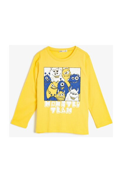 Yellow Children's T-Shirt 0YKB16809TK
