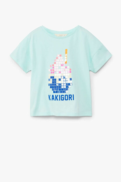 Girls' Water Green T-Shirt 33030738