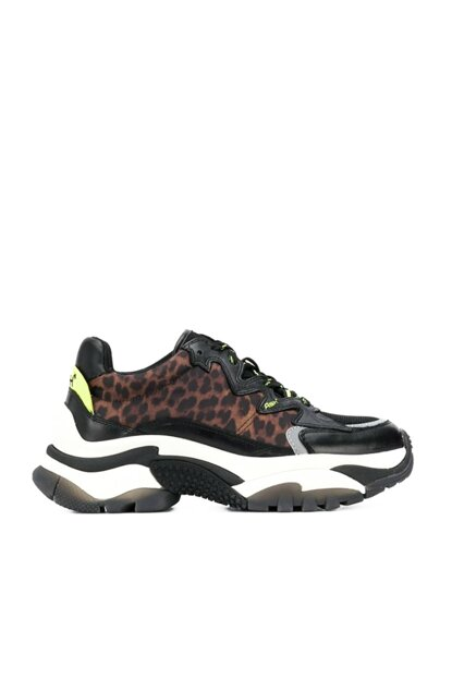 Women's Black / Leopard Sneaker KAS19KADDICTION