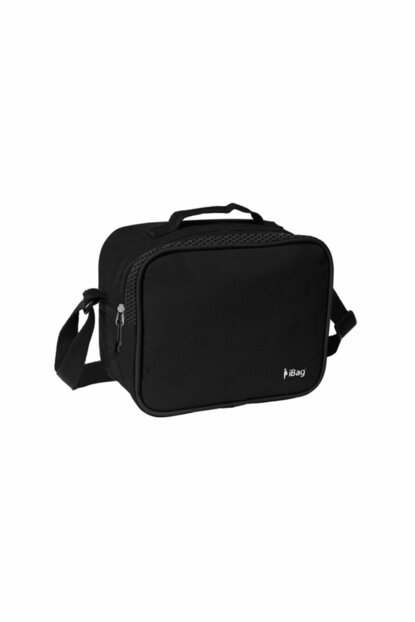 Ibag Black Single Compartment Nutrition Bag (Stitching Bag) YGN12821