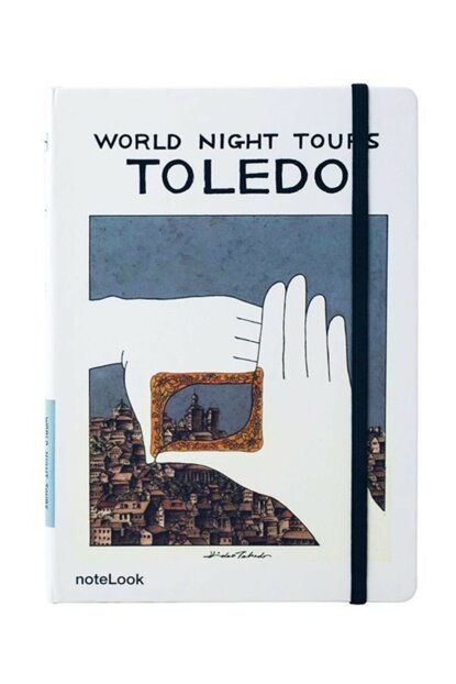 Toledo Lined Notebook A5 49513