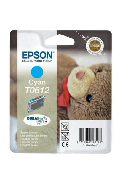 C13t061240 (T0612) Blue Ink Cartridge for Epson C13T061240