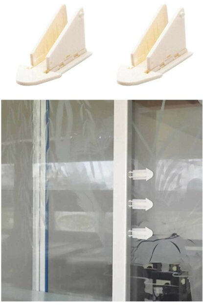 6Pcs Baby Child Protection Rail Cabinet Lock BTS-BG-00002