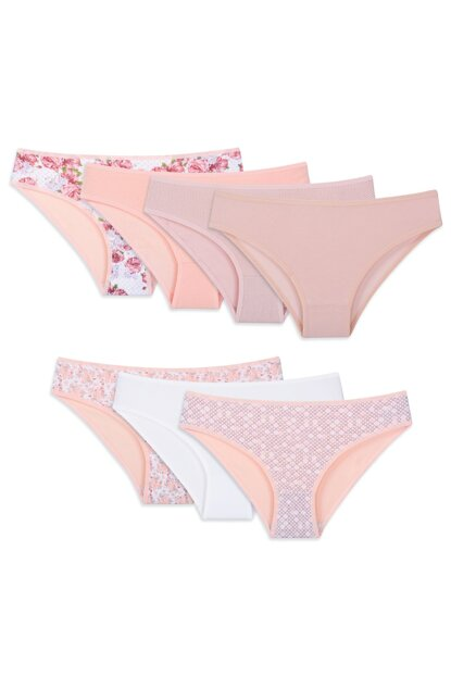 Women's Mixcolor Panties Pack Of 7 13932