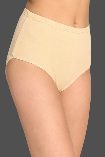 Women's Skin 6 Piece Pack Cotton Ribana Bato Panties ELF568TUTKU922CCM6