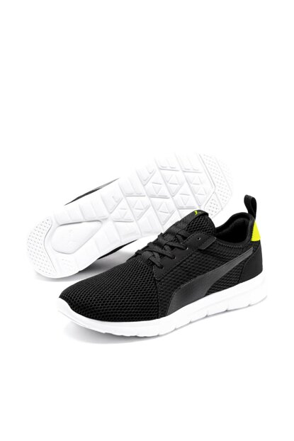 FLEX FRESH Black Unisex Sneaker Shoes 36912006
