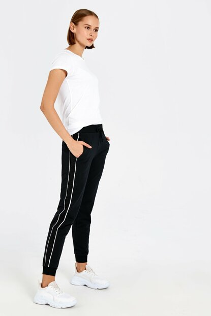 Women's New Black Trousers 9WQ040Z8