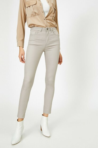 Women's Gray Pants 0KAK43804MW