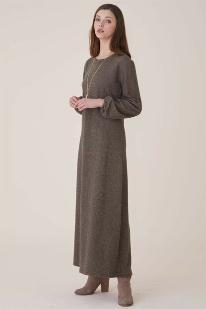 Women's Mink Dress Nassah-UU-9W6059