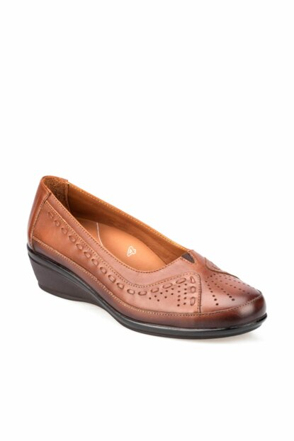 Genuine Leather Taba Women Casual Shoes 000000000100373607