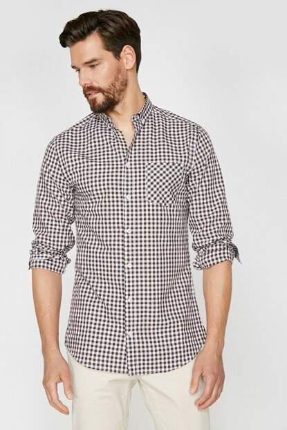 Men's Coffee Shirt 9YAM64132OW
