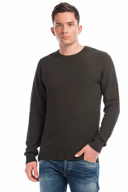 Sweater - Structure Essential Knit Crew Neck 12137171