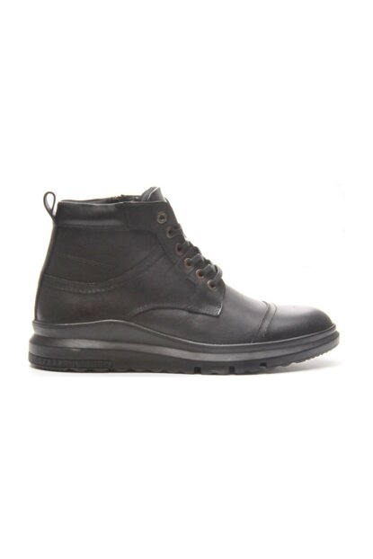 Genuine Leather Black Floter Men Boots TR_BUL-200052