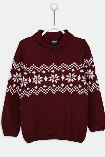Boys' Bordeaux J0S Pullover 9W8679Z4 Click to enlarge