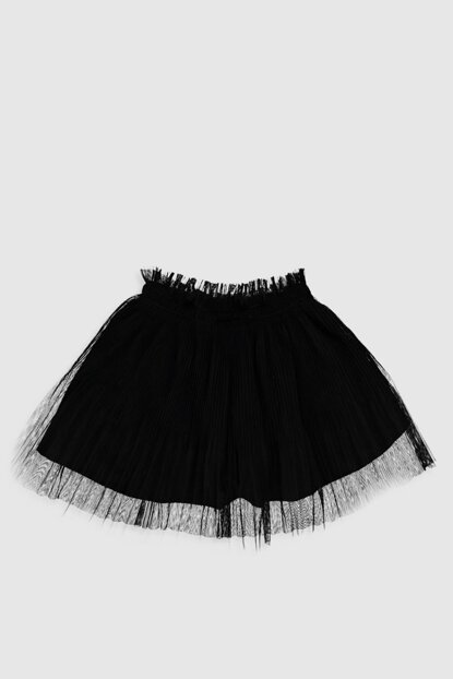 Girls' New Black Cvl Skirt 9WV479Z4