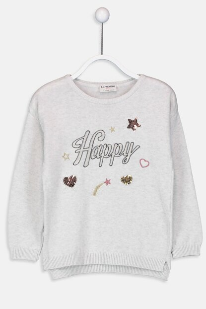 Girls' Snow Melange 847 Pullover 9W1864Z4 Click to enlarge