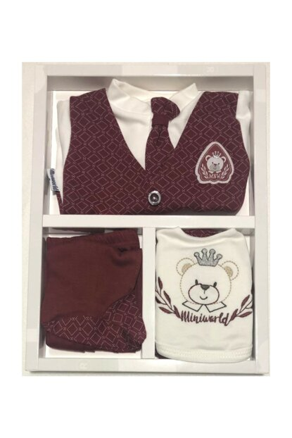 Baby Boy 5 Li Tie Layette Set Hospital Outlet Antiallergic Cotton Fabric Gloves Gifted 14401
