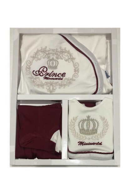 Baby Boy Prince 5 Li Layette Hospital Outlet Newborn Set Antiallergic Cotton Fabric Gloves Gifted 14281