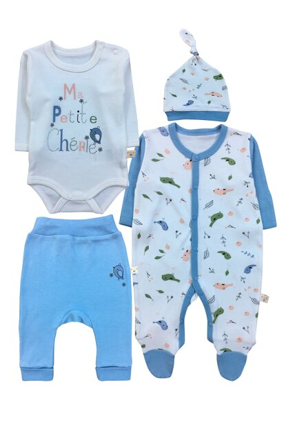MR.PETITE DETAILED BODY, PANTS, COVER AND HAT SET-4483 F0907