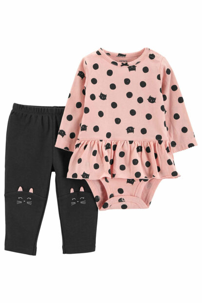Pink Baby Girl Set of 2 121I665