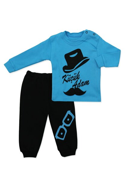 Mustache Little Man 2 Li Baby Set K658 658BM
