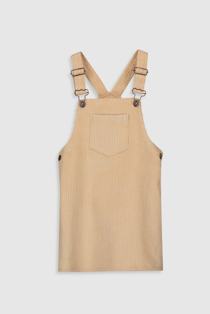 Girls' Dress Beige G19 Dress 9WH756Z4