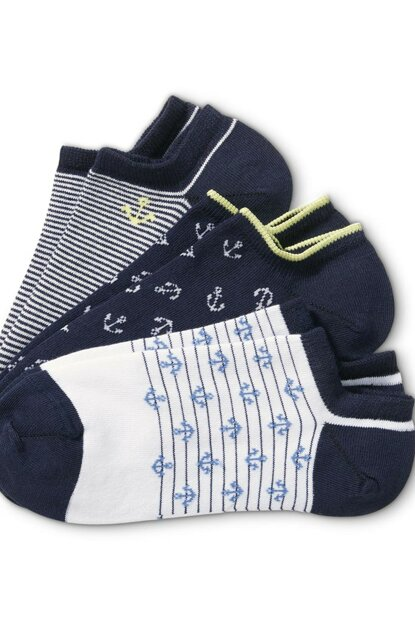 Organic Cotton Sneaker Socks 15679