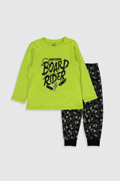 Boys' LIVE GREEN G7Q Pajamas Set 9WL605Z4 Free Shipping