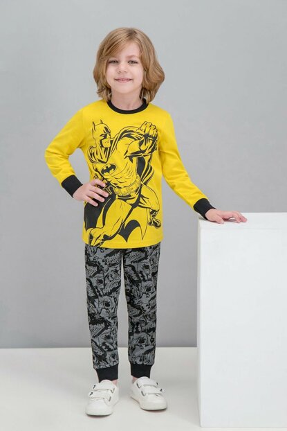 Licensed Yellow Boy Pajamas Set L1034-C-V1
