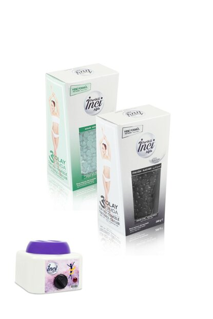2 Box - Azulen Black + Waxing Machine For Sensitive Skin And Exfoliating Effect 2031370066967