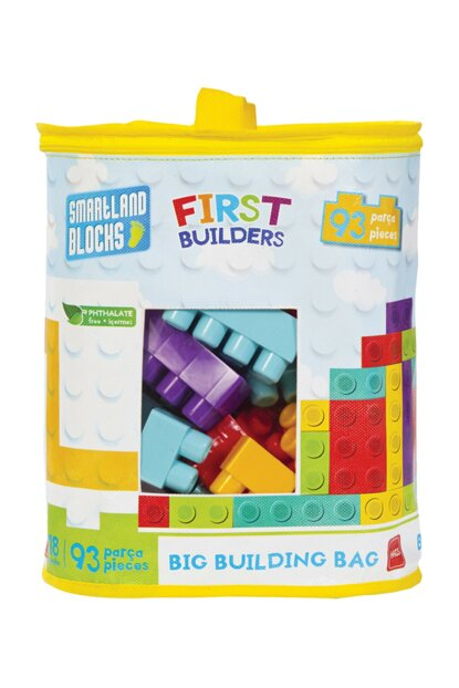 Smartland Big Blocks 93 Pieces with Lego Bag Urt-5827 URT-5827