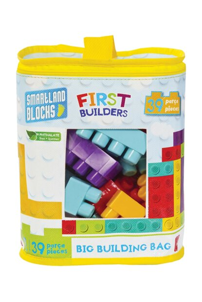 Smartland Big Blocks 39 Pieces with Lego Bag Urt-5825 URT-5825