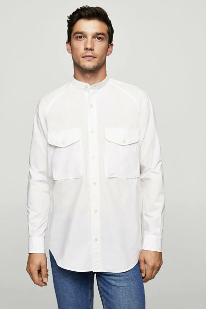 Men's White Shirt 13085692