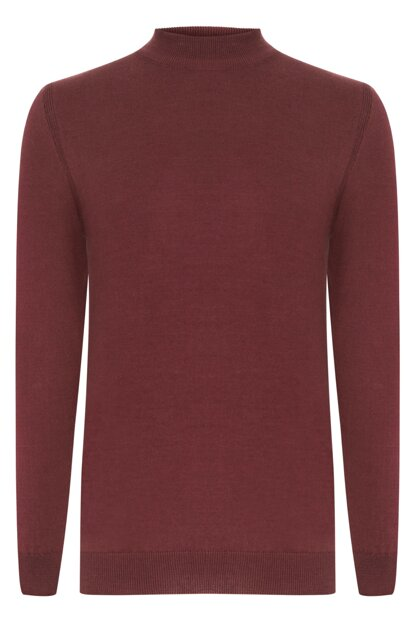 Men's Plum Cotton Sweater 354208