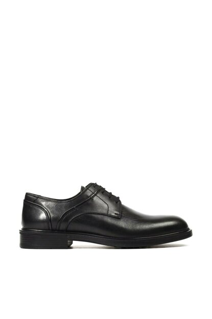 Genuine Leather Black Men Classic Shoes 02AYH152030A100