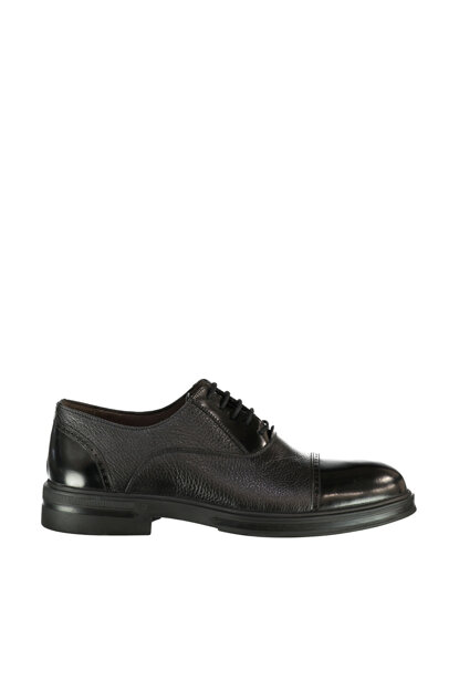 Genuine Leather Black Men Shoes 17WFD314514