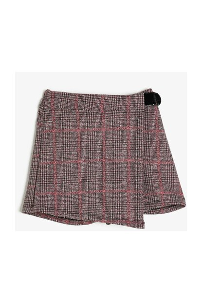 Pink Children Plaid Skirt 0KKG47955AK